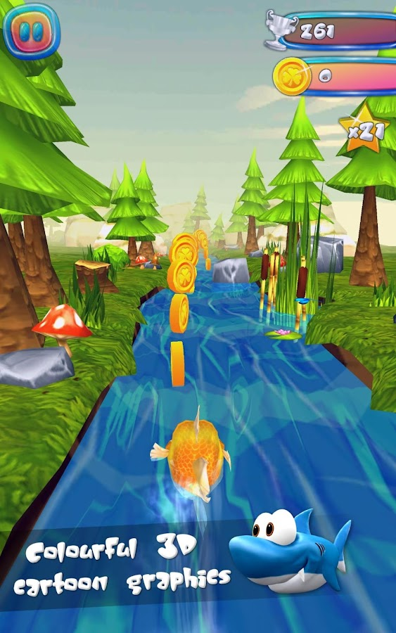 🐳 Run Fish Run 🐳- screenshot
