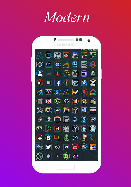 IconX - Icon Pack Screenshot Image