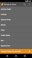 Screenshot of Scanner Radio Pro