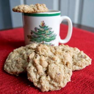 Pecan Oatmeal White Chocolate Chip Cookies.