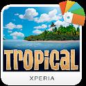 XPERIA™ Tropical Theme icon