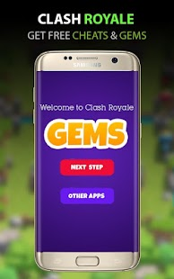 Gems for Clash Royale Prank- screenshot thumbnail