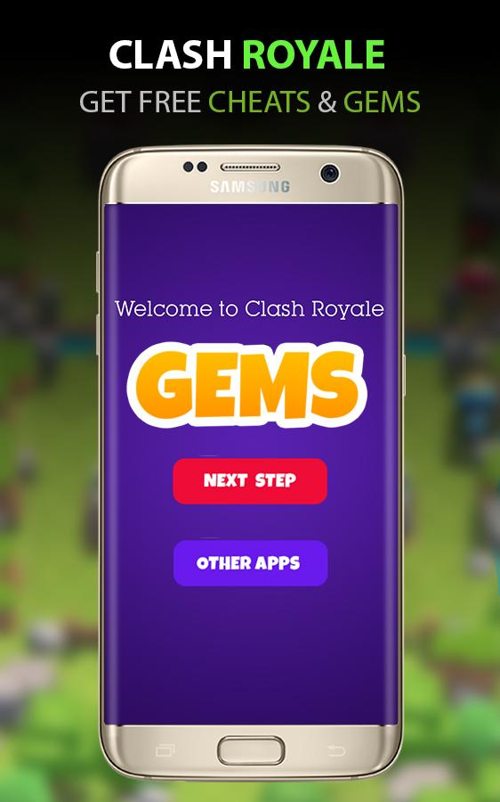 Gems for Clash Royale Prank- screenshot
