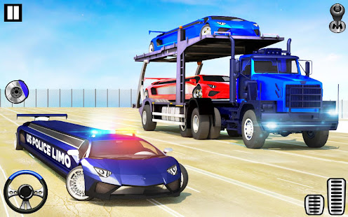 App US Police Limo Transporter Truck 2019 APK for Windows Phone