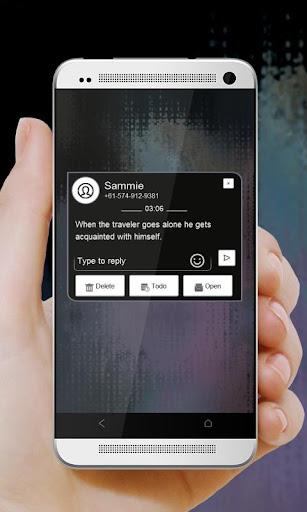 玩免費個人化APP|下載化石时钟 GO SMS app不用錢|硬是要APP