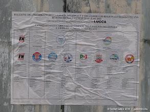 Photo: szavazólap, minta (óriásplakát)