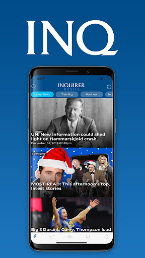 Inquirer Mobile 9.13 screenshots 1