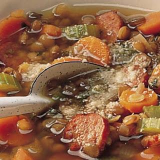 Hearty Lentil Soup.