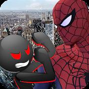 Spider vs Stickman Survival Battle 1.5
