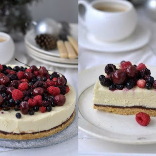 The White Chocolate Cheesecake Without Baking
