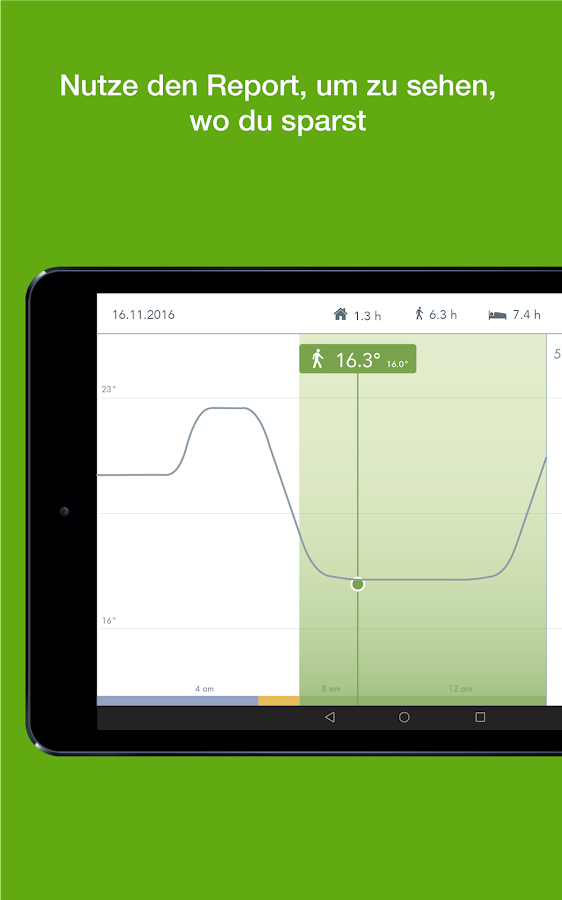 tado° – Screenshot