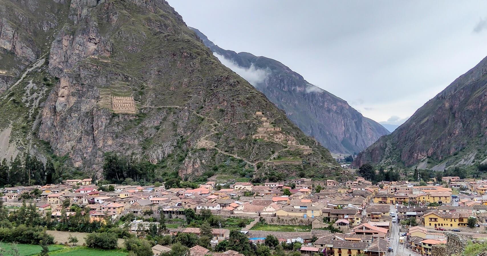 pisac+fort+sacred+valley+cuzco+peru+latin+america