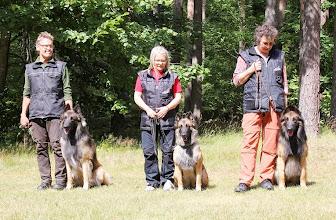 """Photo: Rolle och S.Laios, Maj och S.Lykos """"Frodo"""" Eva och S.Lavinia """"Java"""""""