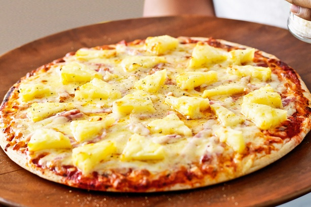 Image result for pineapple pizza