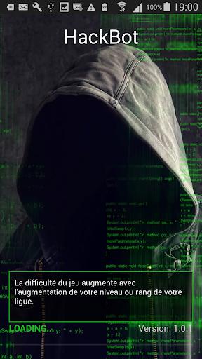 Code Triche HackBot Jeux de Hacker APK MOD (Astuce) screenshots 1