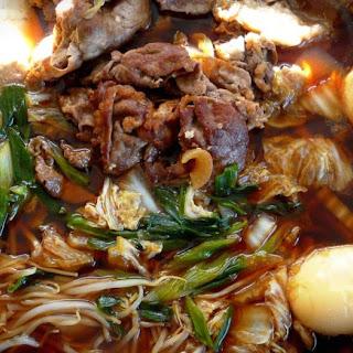 Beef Sukiyaki (Japanese hot pot).