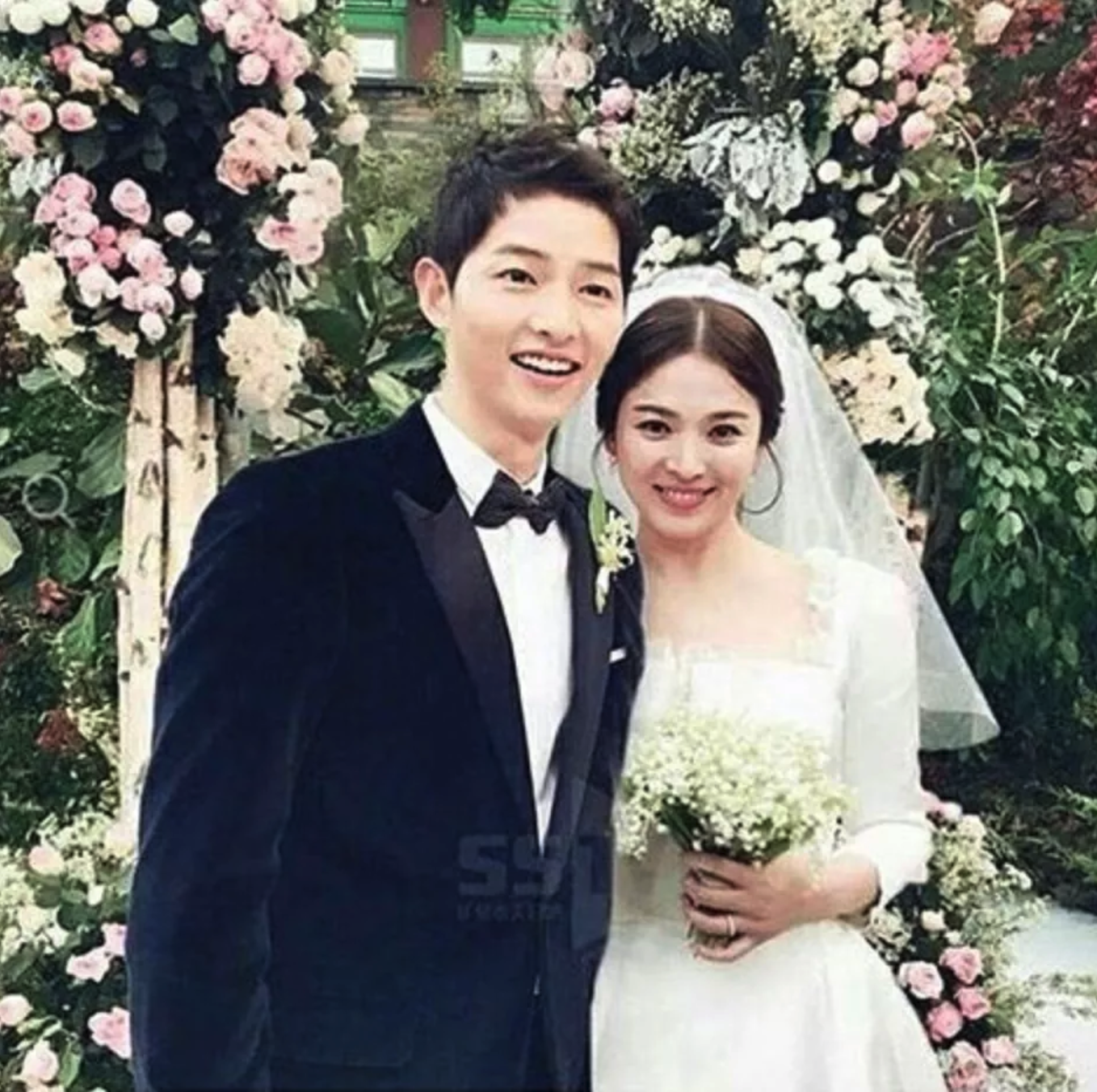 His Loving Vows Left Song Hye Kyo In Tears As Well Everyone Present For The Wedding