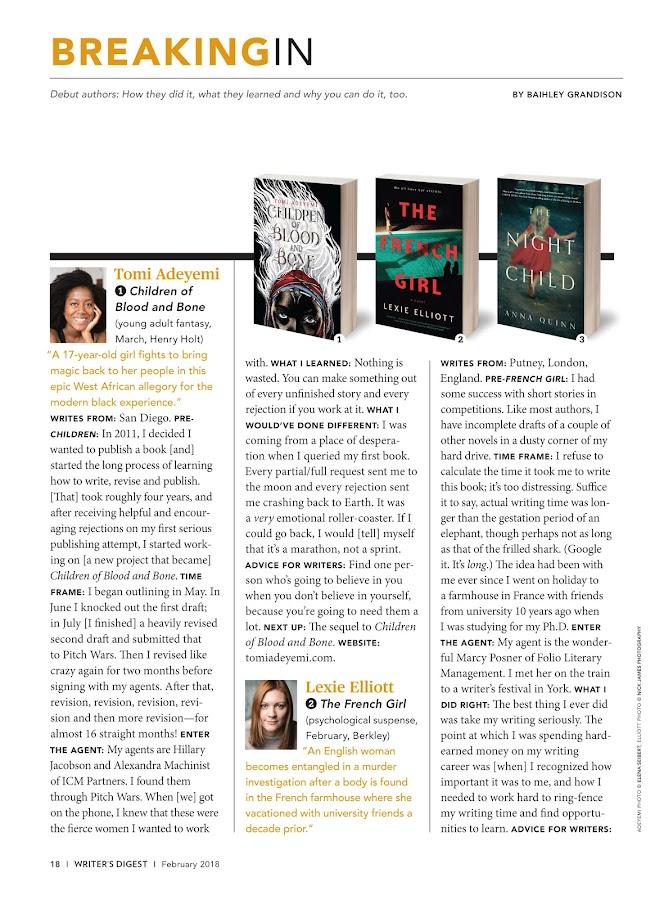 Writer's Digest- screenshot