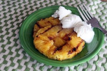 Nunu's Danc'n Orange Glazed & Grilled Pineapple Recipe