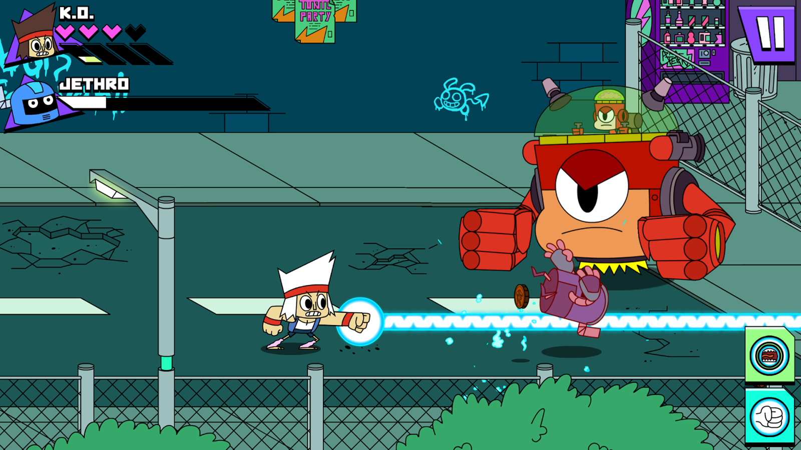 OK K.O.! Lakewood Plaza Turbo- screenshot