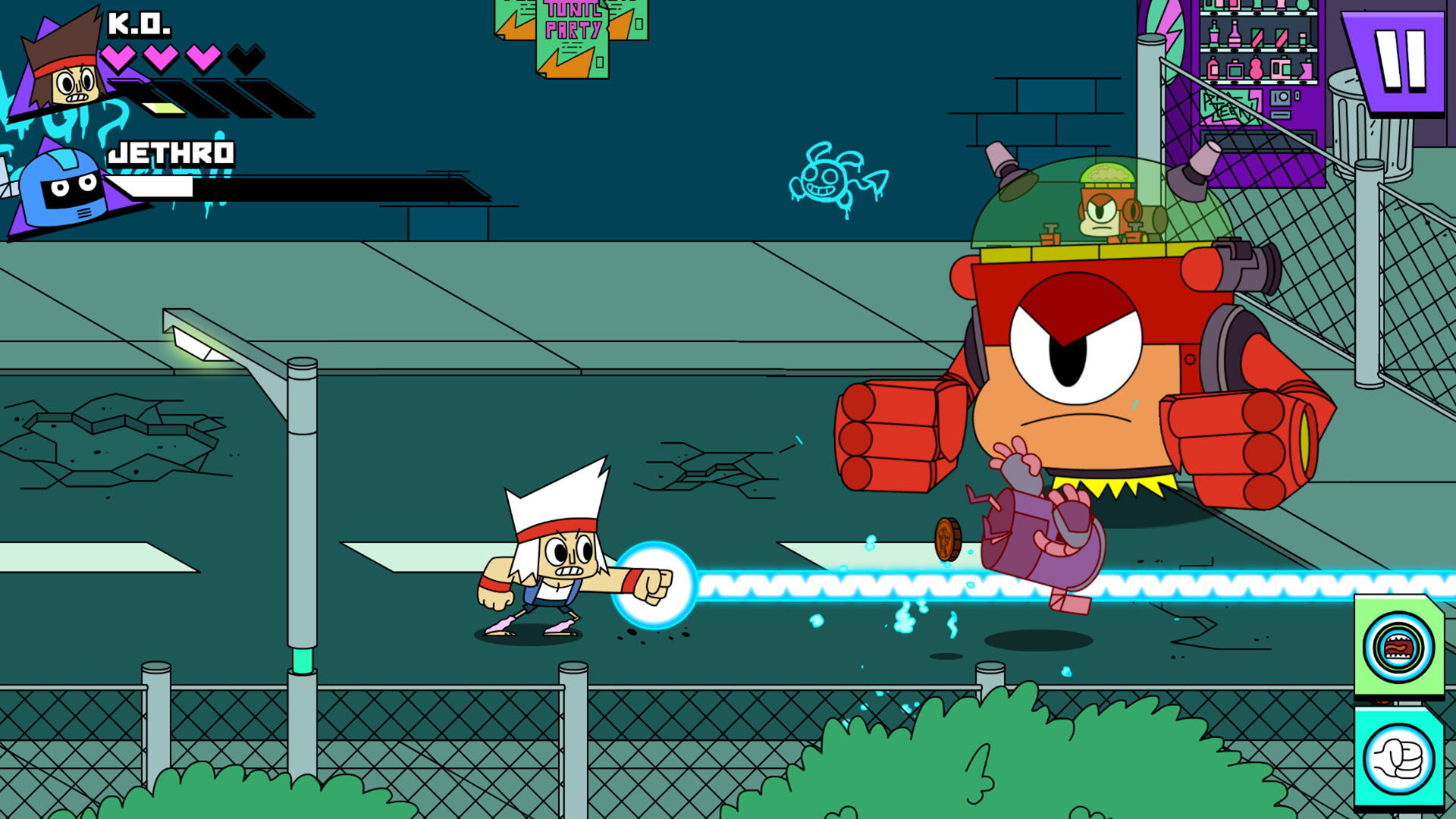 OK K.O.! Lakewood Plaza Turbo screenshot #4
