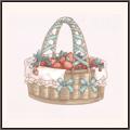 いちごの籠(ミント)