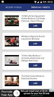 Aerobics workouts fitness screenshot