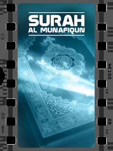 Surah Al Munafiqun MP3 - náhled