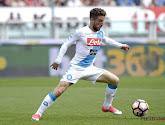 Dries Mertens scoort opnieuw voor Napoli, dat tweede plek net niet afsnoept van Roma
