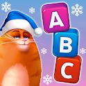 🎄Kitty Scramble: Word Stacks icon