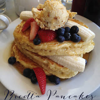 Five Leaves' Ricotta Pancakes.