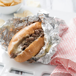 Philly Cheese Steak Sandwiches.