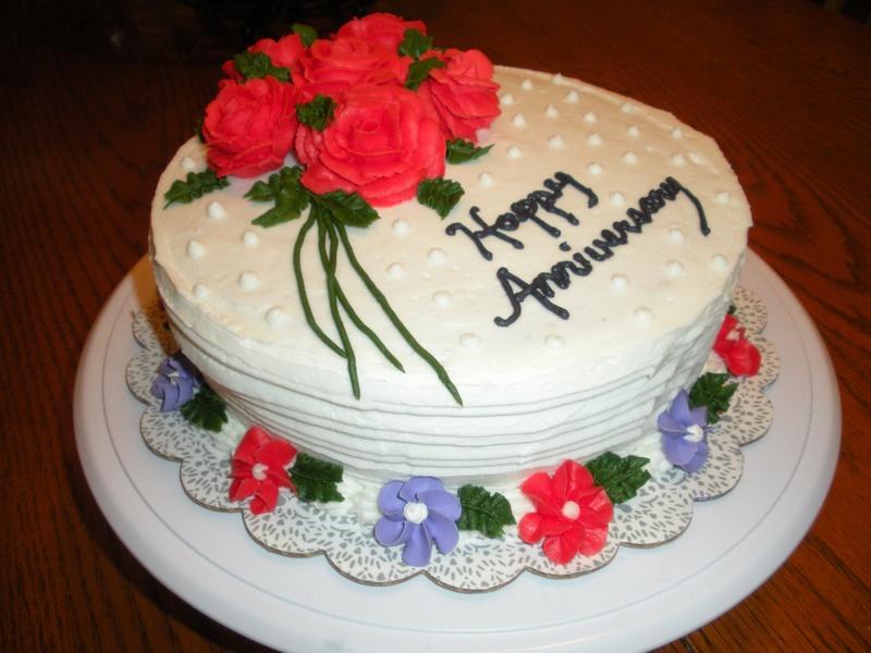 Wedding Anniversary Cakes Info