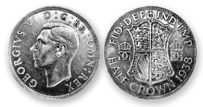 Photo: 1938 Half Crown - Club Site Coin 2nd