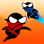 Jumping Ninja Two player Icon