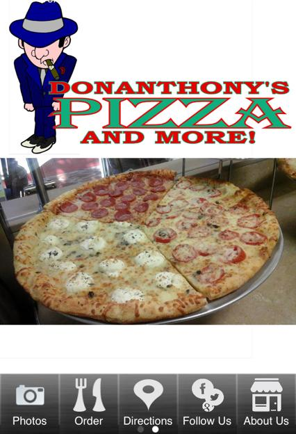 DonAnthony's Pizza and More- screenshot