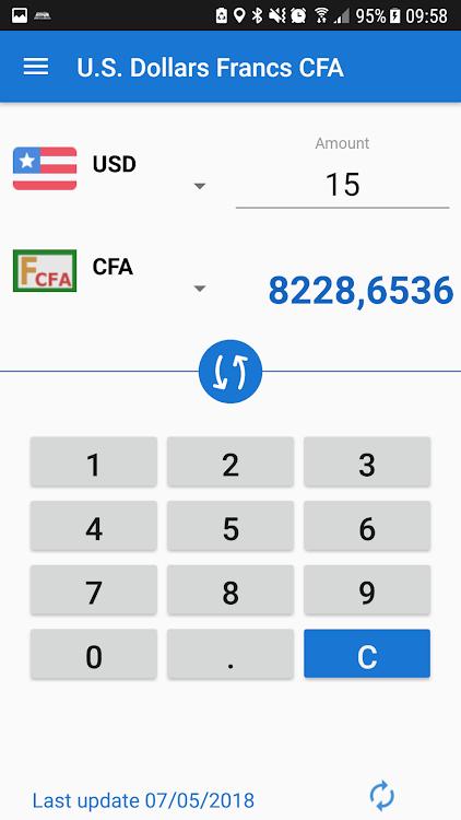 Cfa Franc To Us Dollar Converter