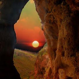 NONE by Elli Kraizberg - Landscapes Caves & Formations