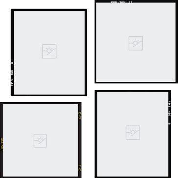 Nonaligned 4 squares - Instagram Post Template