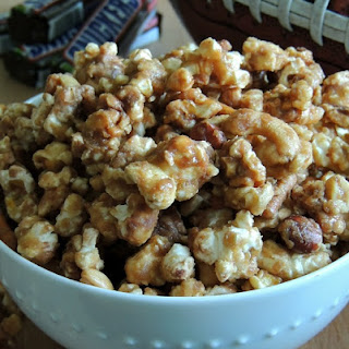 Sweet & Salty Snickers Popcorn
