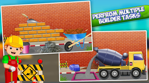 Bus Station Builder: Road Construction Game android2mod screenshots 13