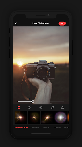 LensLight - Distortions Photo Effects 1.0 screenshots 1