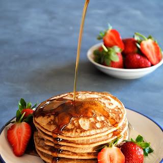 Light + Fluffy Buckwheat Pancakes