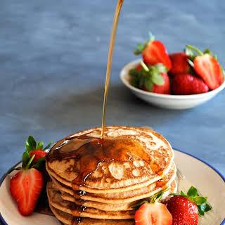 Light + Fluffy Buckwheat Pancakes.