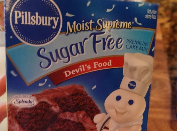 You will need one box of Pillsbury moist chocolate cake mix. (Don't add anything...