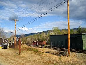 Photo: White Mountains. Bekledik , hiç bir tren gelmedi. Neden acaba?