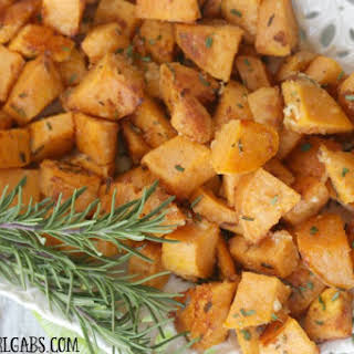 Rosemary Parmesan Sweet Potatoes.