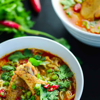 Thai Curry Chicken Noodle Soup