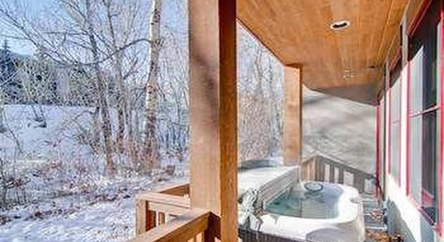 Ski View in River Run by Alpine Lodging