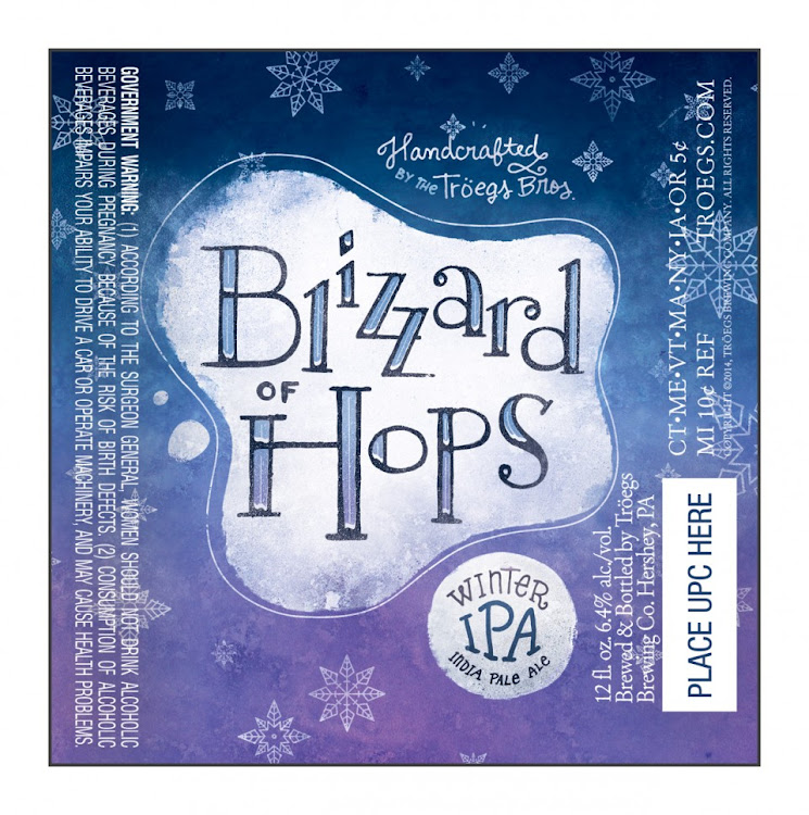 Logo of Tröegs Blizzard Of Hops